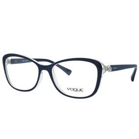 Óculos De Grau Vogue Feminino Vo5095b 2466 - Acetato Azul 51843b37cb