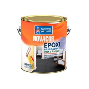 Tinta Novacor Epóxi Cinza Escuro 3,6 Litros