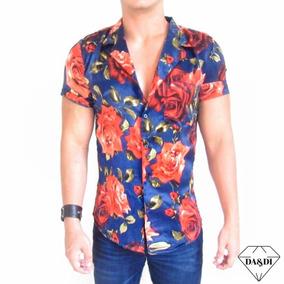 240076cc78 Camisas Hombre Flores - Camisas de Hombre en Mercado Libre Colombia