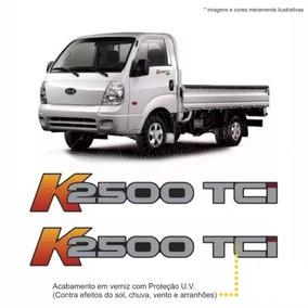 Kit 2 Emblemas/adesivos K2500 Tci Kia Bongo Lateral