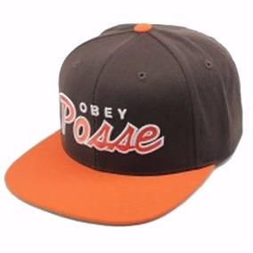 Gorro Obey Posse Brown Orange Marcas De Skate   Surf ¦ 4d60cbf0350