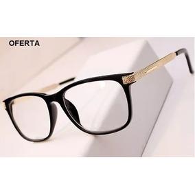 24dd8ad135c52 Armação De Óculos De Grau Acetato Preta Retro - Óculos no Mercado ...