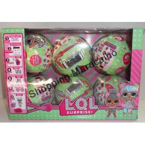 Lol Huevos Sorpresas Bola Surprise Set De 6 *tienda Fisica