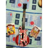 Guitarra Guitar Hero Oroginal Conn Dos Juegos