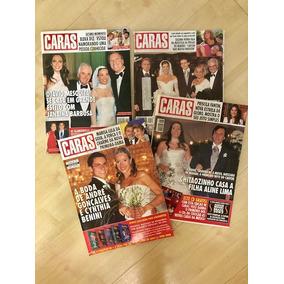 Lote De 4 Publicações Caras Casamentos
