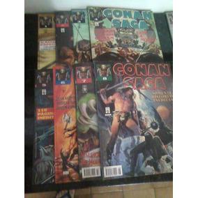 Conan Saga - Completa Em 17 Edições