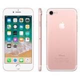 Iphone 7 Apple 32gb Ouro Rosa 4g Tela 4.7 Retina - Câm. 12mp