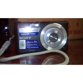 Câmera Digital Da Sony 14.1 Mega Pixels