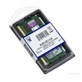 Memoria Kingston Ddr3 8gb 1600 Mhz Notebook
