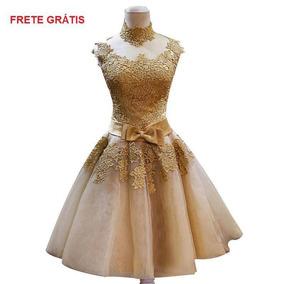 Vestido Debutante Curto Festa 15 Anos 18811 Formatura Dama B