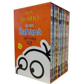 Box Diario De Um Banana 10 Volumes Acompanha Pôster