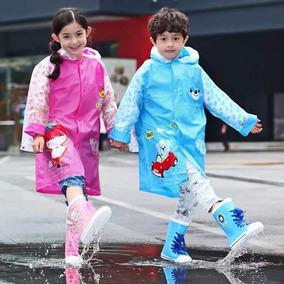 Ropa Impermeable De Lluvia Para Niños Y Niñas