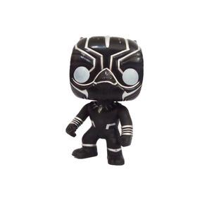 Boneco Funko Pop Cabeçudos Herois Pantera Negra Réplica