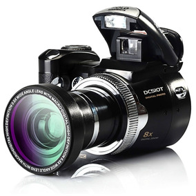 Câmera Dslr Protax Dc-510t 16mp Tiro 5.0mp Cmos Câmera Digit