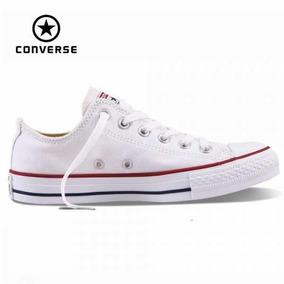 Converse All Star Blanca Baja - Zapatillas Converse en Mercado Libre ... 249110ddfc6