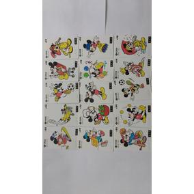 Série Desenhos Disney Mickey (15 Cartões) China Unicom