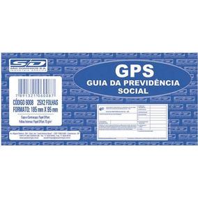 Impresso Previdencia Social Gps 25x2 Vias 185x95mm
