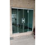 Fale Com O Vendedor !! 1-porta 210x200 (4) Folhas Verde 8mm