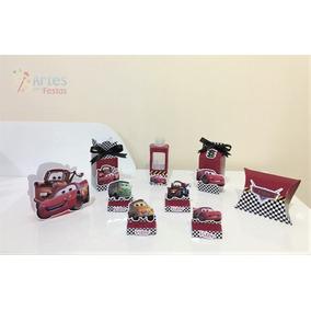 Kit: 110 Lembrancinhas Personalizadas - Carros