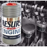 Aditivo Remetalizador Resurs Total Para Motores Envió Gratis
