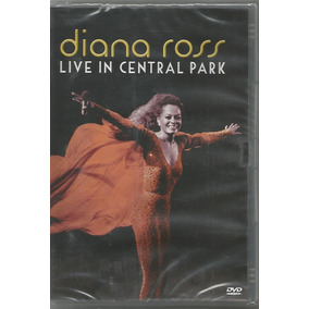 Dvd Diana Ross - Live In Central Park Original Lacrado!!