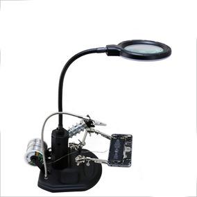 Herramienta Lupa Luz Reloj Celulares Cautin Luz Bst-308l /e