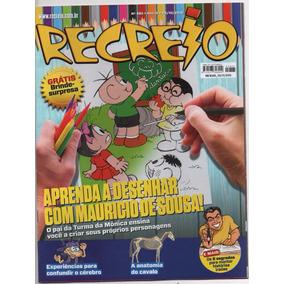 100 Revistas Recreio C Brindes Intactos. Liquidaçao.