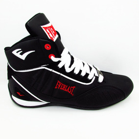 Tenis Everlast Casual Box El 1500 Negro Rojo Blanco