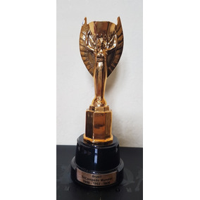 Taça Jules Rimet Copa Do Mundo Fifa Futebol Tamanho 18 Cm