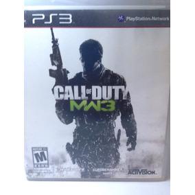 Call Of Duty Mw3 Modern Warfare 3 Ps3 Física Usado