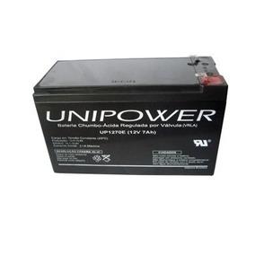 Kit 2 Baterias Nobreak Apc Sms Unipower 12v 7ah Up1270