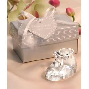20 Lembrancinhas Nascimento Sapatinho Crystal