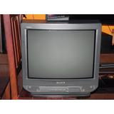 Tv Sony 21 Con Control Remoto En Excelente Estado.