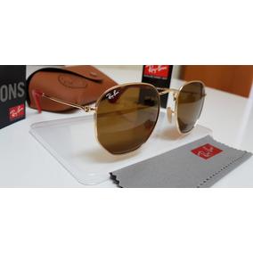 Oculos Hexagonal Marrom Ray Ban - Óculos no Mercado Livre Brasil 161ef7f6d8