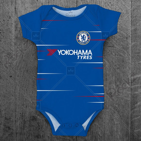 Uniforme Futebol Infantil Chelsea - Bebês no Mercado Livre Brasil 049c84ea54993