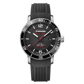 Relógio Masculino Suíço Wenger Roadster Black Night 45mm