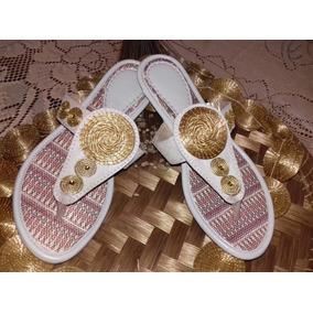 Sandália Capim Dourado