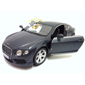 Miniatura Bentley Continental Gt V8 Chumbo Perolado 1:32 Rmz