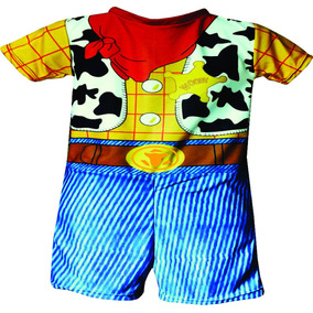 Fantasia Infantil Curta Desenho Toy Story Woody Cowboy