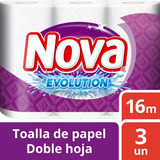 Toalla Nova Evolution Pack 3 Unidades Tienda Oficial
