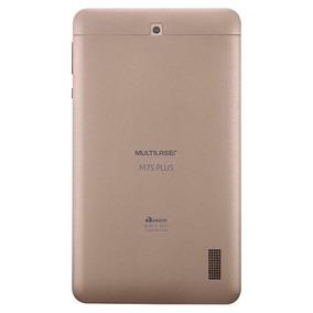 Tablet Multilaser M7s Plus Dourado Quad Core 1gb Ram Androi