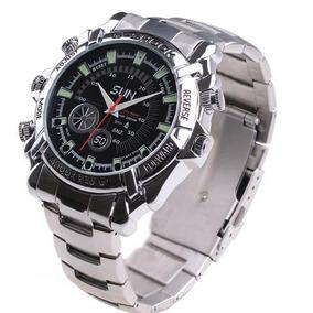 4880002e363 Relógio Espião Full Hd 12 Mpx 16gb Visão Noturna - Câmera de ...