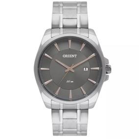 Relógio Orient Masculino Aço Original C/ Nf Mbss1320 I1sx
