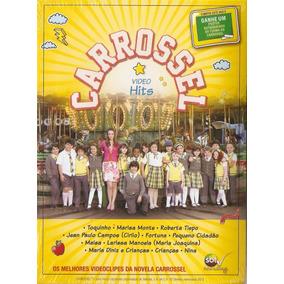 Dvd Carrossel - Video Hits - Novo***