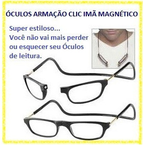 Oculos Grau Incolor Armacoes - Óculos no Mercado Livre Brasil c3f5637f66