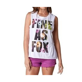 Polera Mujer Fox Racing Blown Out Muscle Tee.