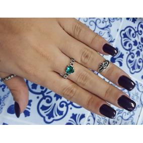 21f15cf3fecdb Anel Coracao Tiffany - Anéis com o melhor preço no Mercado Livre Brasil