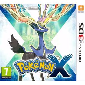 Pokemon X Nintendo 3ds Novo Lacrado