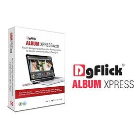 Dgflick Album Xpress Pro 12.0 - Digital Album Creation Soft