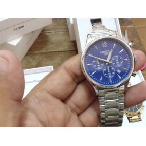 Relógio Masculino Pulseira Aço Inoxidável Nibosi